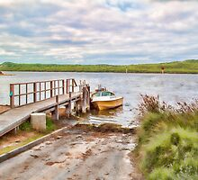 Poddy Shot Ramp, Wilson Inlet, Denmark, W.A. #5 by Elaine Teague