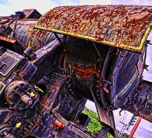 Abandoned giant by pixsellpix