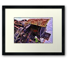 Abandoned giant Framed Print