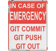 Git Out iPad Case/Skin