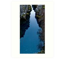 Iceland pure water pool Art Print