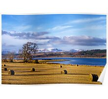 The Beauly Firth and Ben Wyvis Poster