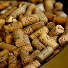 A Barrel of Wine Corks - Croatia by Tricia Mitchell