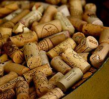 A Barrel of Wine Corks - Croatia by Tricia Mitchell