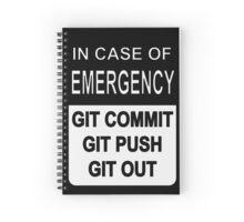 Git Out Custom Spiral Notebook