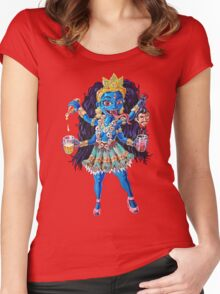Party Girl Kali Women's Fitted Scoop T-Shirt