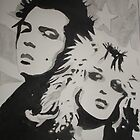 Sid and Nancy by Colin  Laing