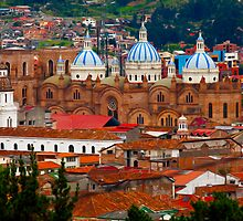 Cuenca Overlook-Cuenca, Ecuador by Paul Wolf