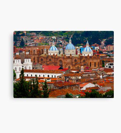 Cuenca Overlook-Cuenca, Ecuador Canvas Print