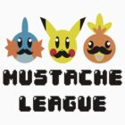 Mustache League by zipperchan