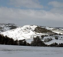 Thorpe Cloud Mar 25th 2013 by Paul  Green