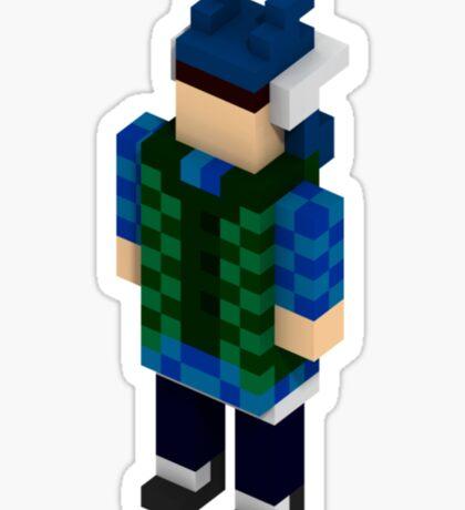 Willy - Minecraft Sticker