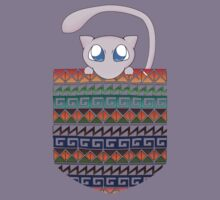 Pokemon Mew in a Pocket Kids Clothes