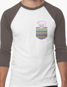 Pokemon Mew in a Pocket Men's Baseball ¾ T-Shirt