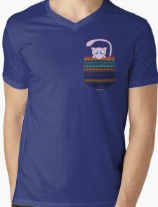 Pokemon Mew in a Pocket Mens V-Neck T-Shirt