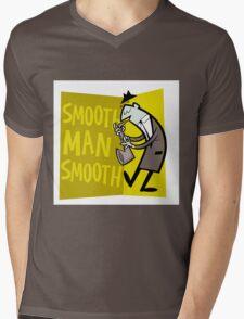 Smooth Man Smooth Mens V-Neck T-Shirt