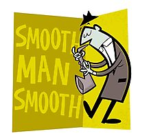 Smooth Man Smooth Photographic Print