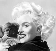 Marilyn Monroe # 1 by toolyman2