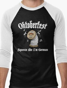Oktoberfest Squeeze Me I'm German Men's Baseball ¾ T-Shirt