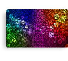Stone Rock'd Rainbow - Art By Sharon Cummings Canvas Print