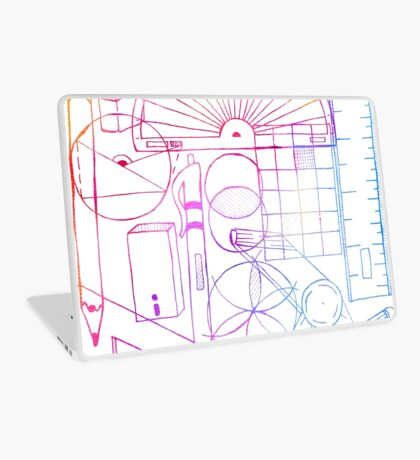 Math & Science Tools 2 Laptop Skin