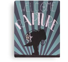 Welcome To Rapture Canvas Print