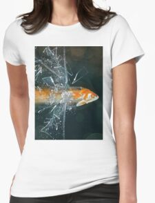 High Speed Womens Fitted T-Shirt