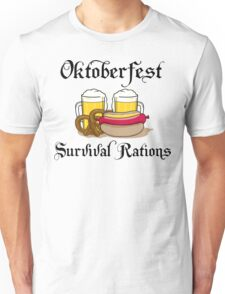 Oktoberfest Suvival Rations Unisex T-Shirt