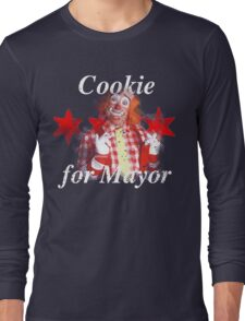 Cookie for Mayor Long Sleeve T-Shirt