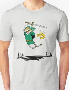 Zelda Adventure Time Finn and Jake T-Shirt