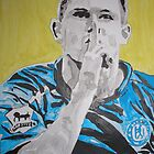 Frank Lampard by Colin  Laing