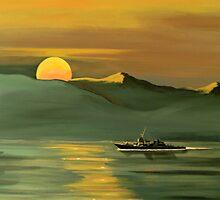 Strait of Hormuz by Janet Glatz