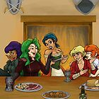 Frth En Geil: Dining Women by Farthingale
