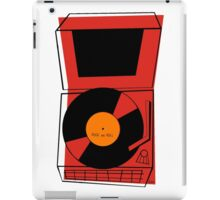 ROCK and ROLL Retro Vintage Record Player Phonograph iPad Case/Skin