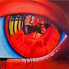 In the inflamed eye of the beholder by Kasia B. Turajczyk