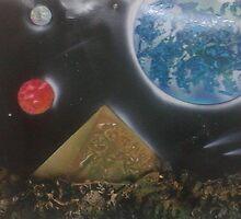 "22""x28"" The Lost Pyramid by Keribleu"