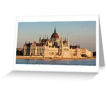 The Hungarian Parliament Building Greeting Card