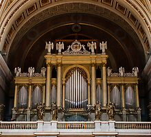 Organ of the Esztergom Cathedral by Balint Takacs