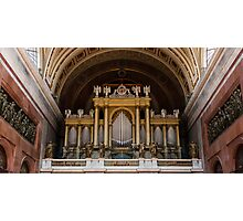 Organ of the Esztergom Cathedral Photographic Print