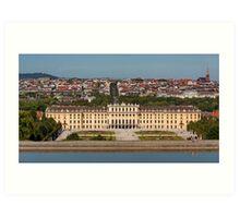 Schönbrunn, Vienna, Austria Art Print