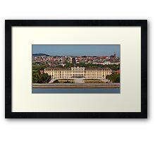 Schönbrunn, Vienna, Austria Framed Print