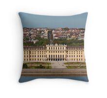 Schönbrunn, Vienna, Austria Throw Pillow