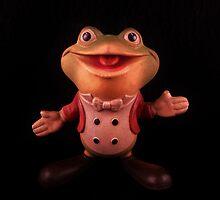 """Plunk your magic twanger, Froggy!"" by Barbara Morrison"