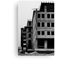 Post nuclear building Canvas Print