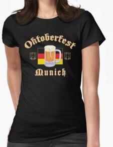 Oktoberfest Munich Womens Fitted T-Shirt