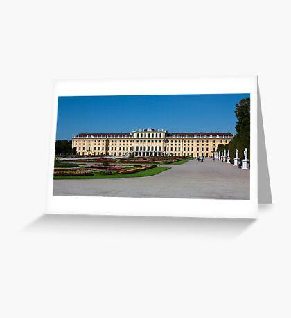 Schönbrunn, Vienna, Austria Greeting Card