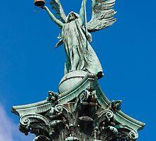 Archangel Gabriel, Budapest, Hungary by Balint Takacs