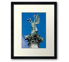 Archangel Gabriel, Budapest, Hungary Framed Print
