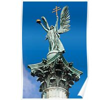 Archangel Gabriel, Budapest, Hungary Poster