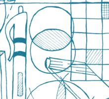 Math & Science Tools 3 Sticker